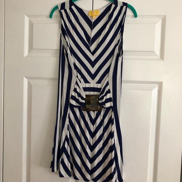 Liz Lange Tops - Sleeveless striped tunic